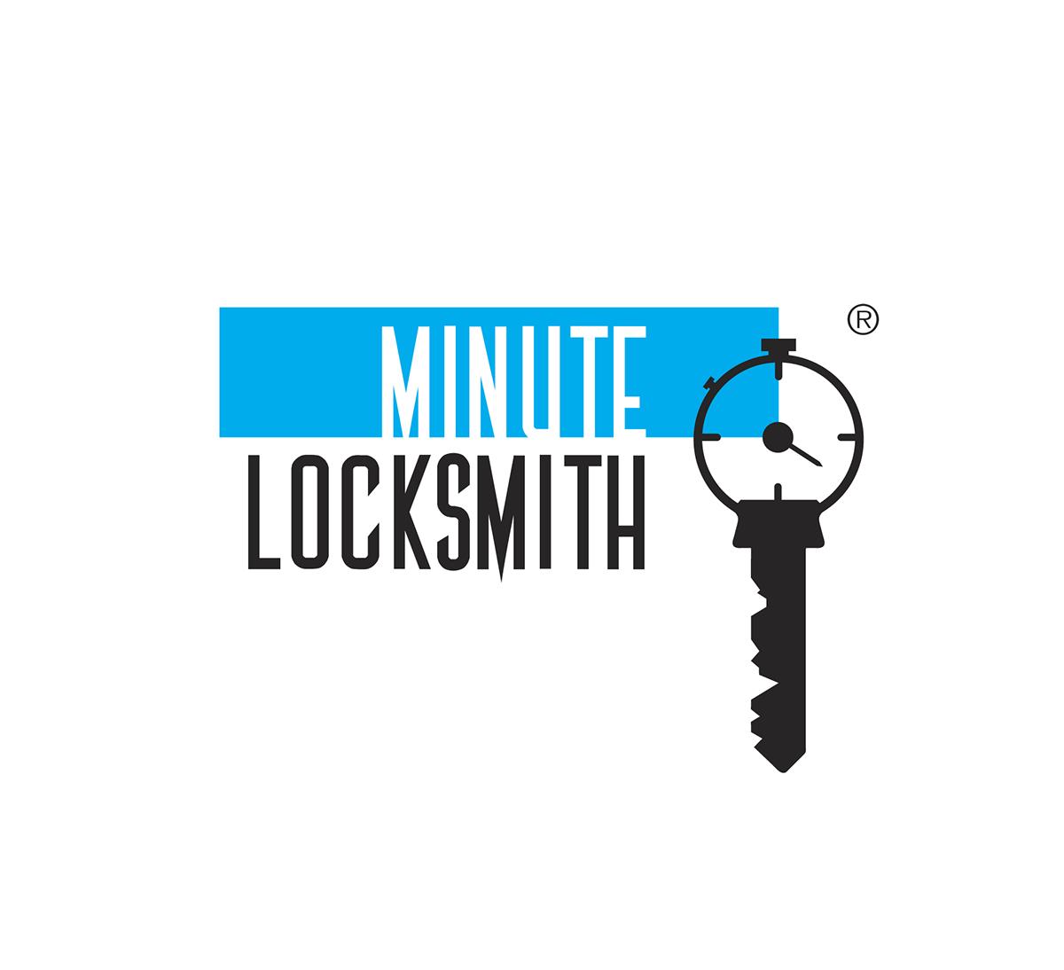 Minute Locksmith Logo + Website on Behance