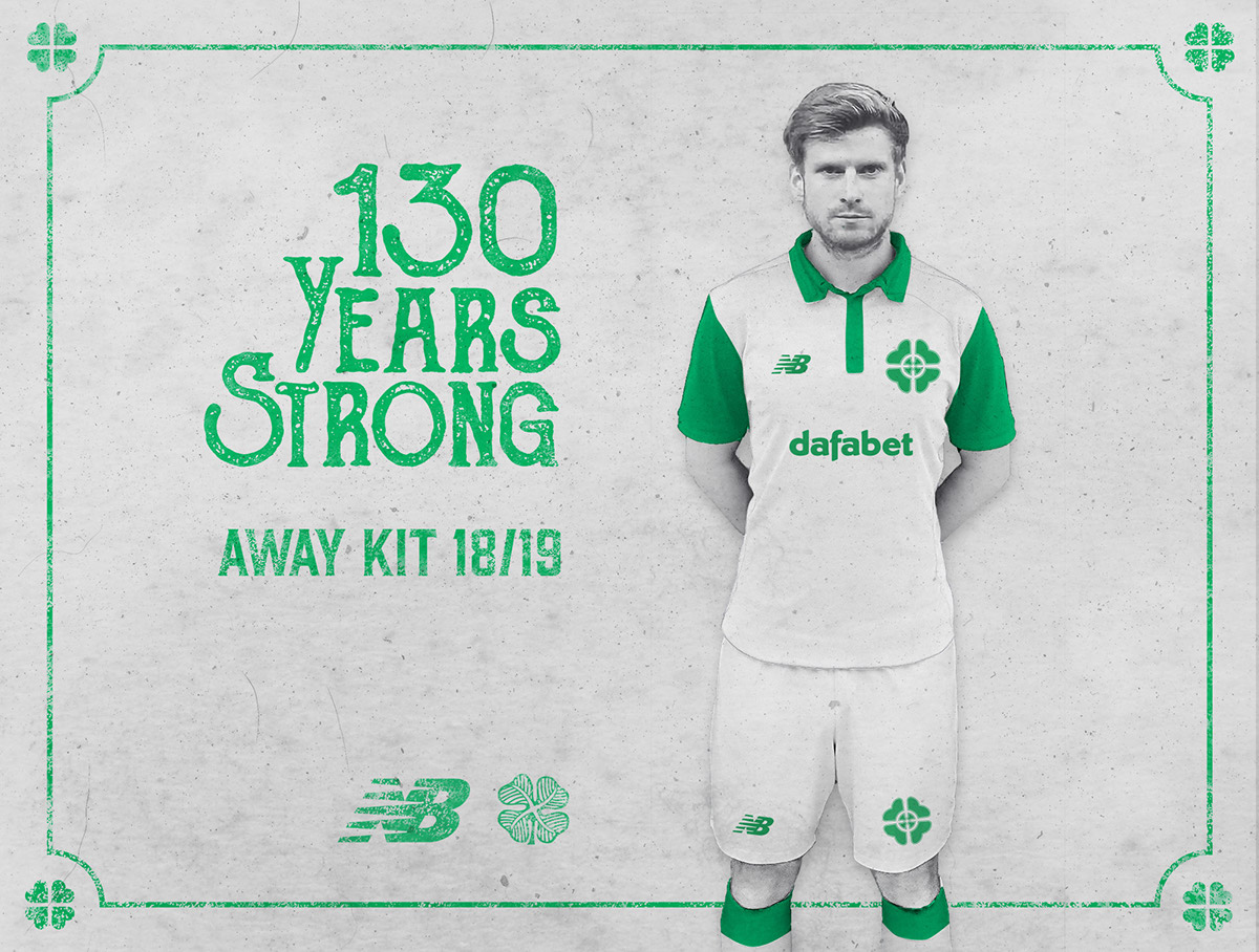 sports shoes 08ad1 124a8 Celtic FC New Balance Away Jersey 18/19 Concept Kit on Behance