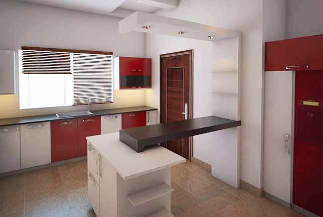 Interior Design Modern Luxury Kitchen Islamabad On Behance