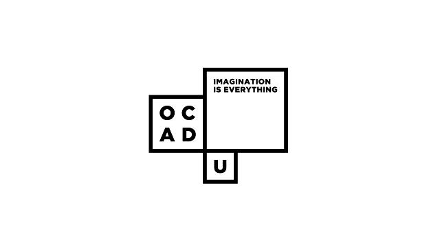 ocad university Bruce Mau Design identity logo University Education Dynamic communications