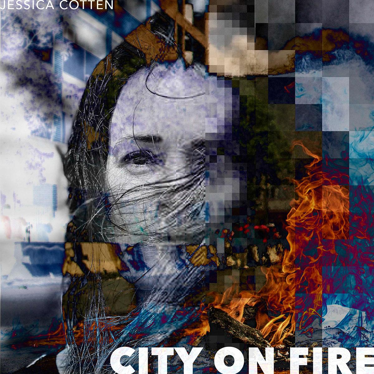Album artist deconstruction graphic design  music musician pixelated