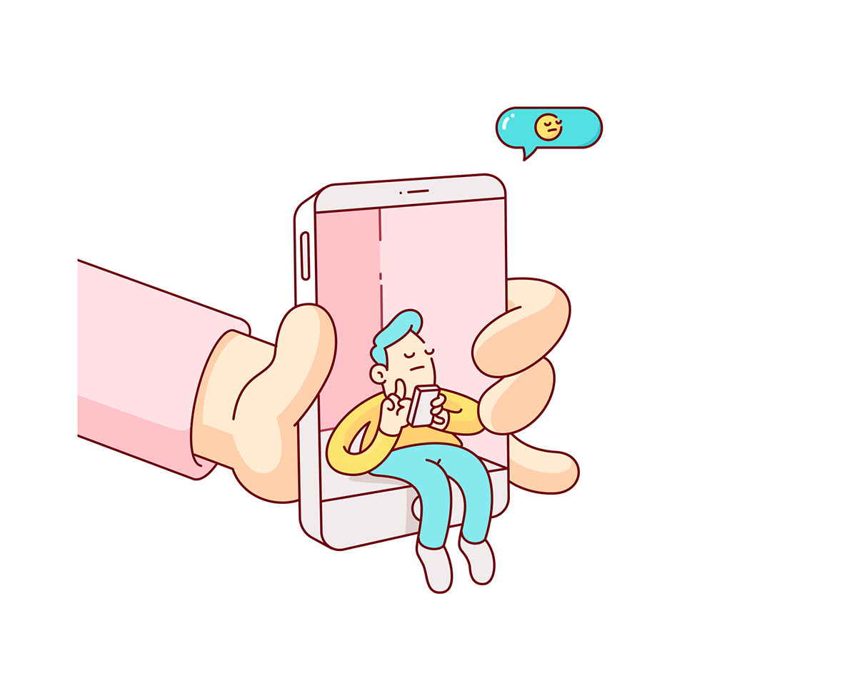 phones addiction instagram