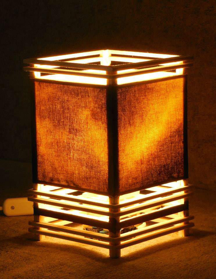 Lamp Ambient table lamp shade colorful