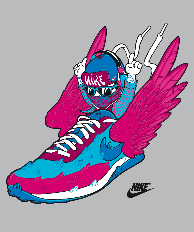 Design t shirt nike - Nike T Shirt May 2012 Wings
