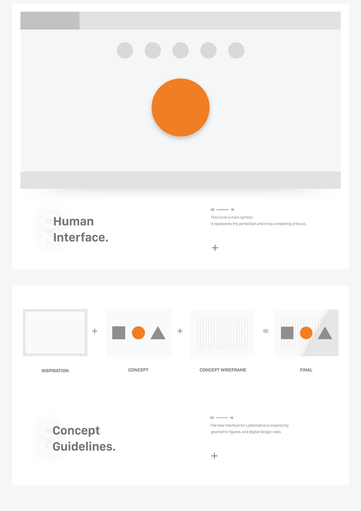Design language lotto ui material design on wacom gallery for Design language milano