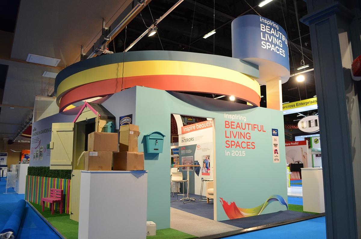 Exhibition Stand Builders Dublin : Dulux paints exhibition dublin ireland on behance