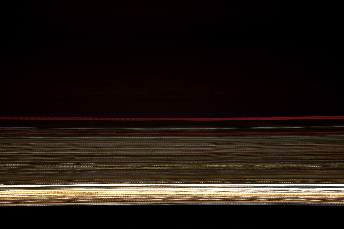 Adobe Portfolio abstract blur black and white