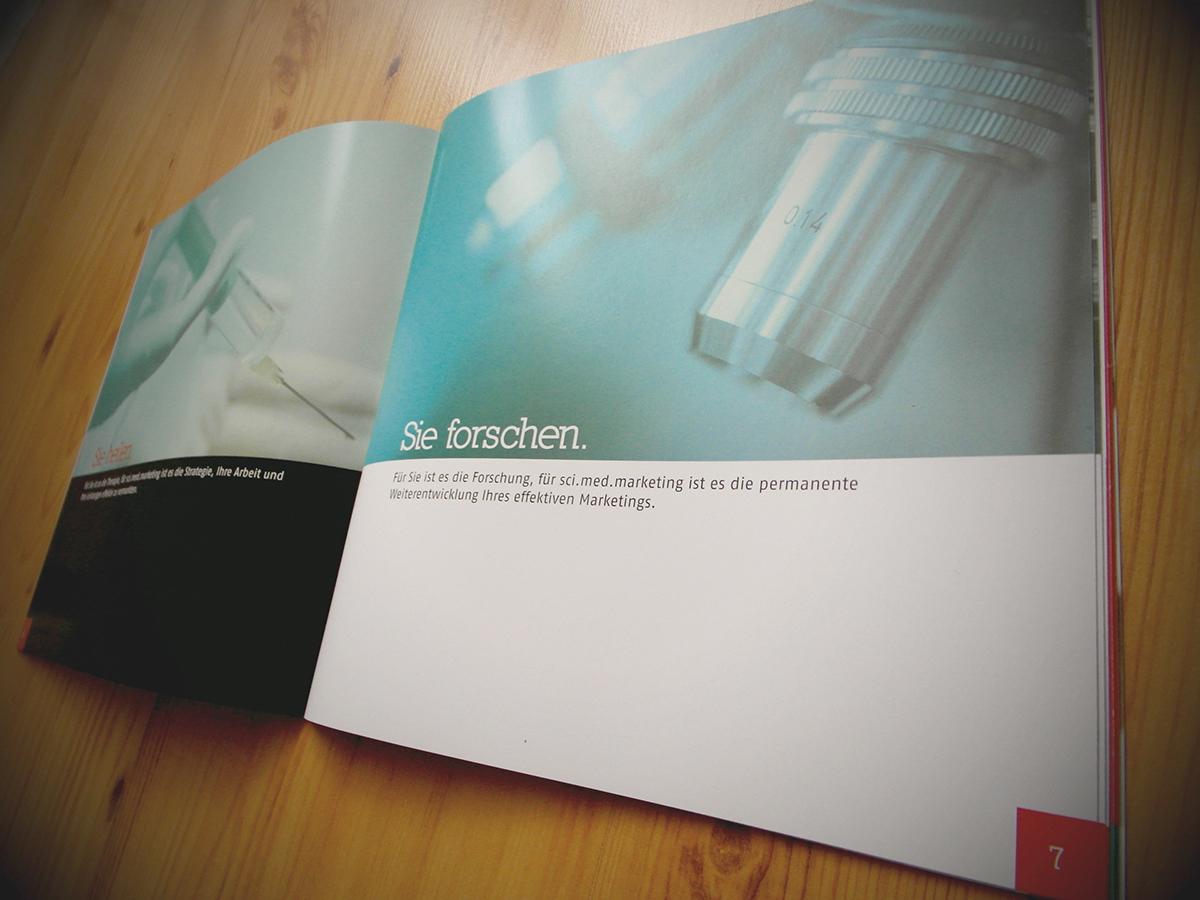 Corporate Design image brochure