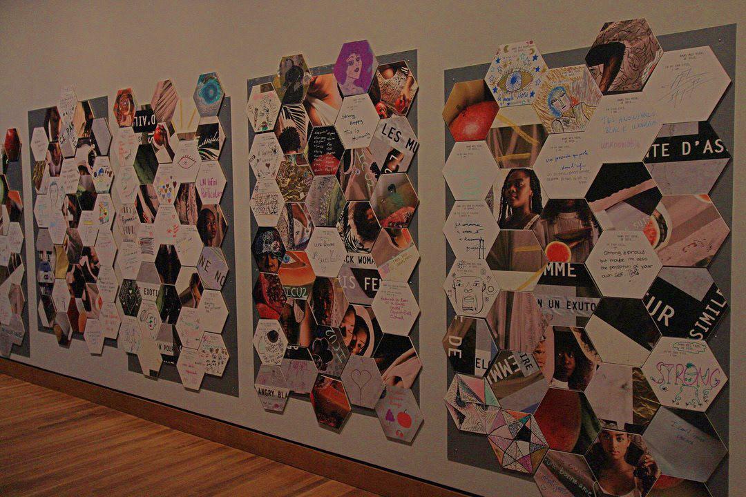 Woman Power feminism museum mbam Montreal Fine Arts  Art Installation Workshop women activism