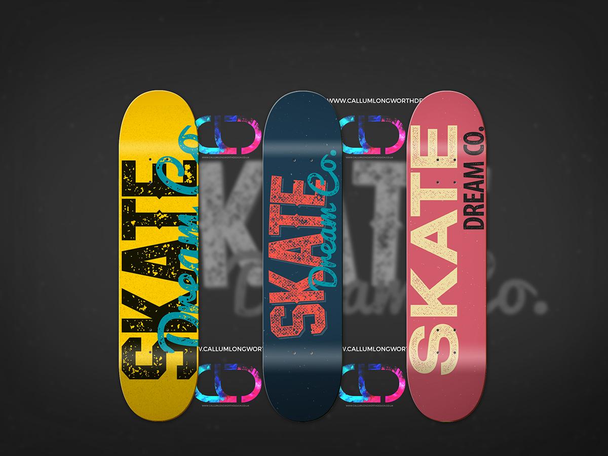Custom Skate Decks on Student Show