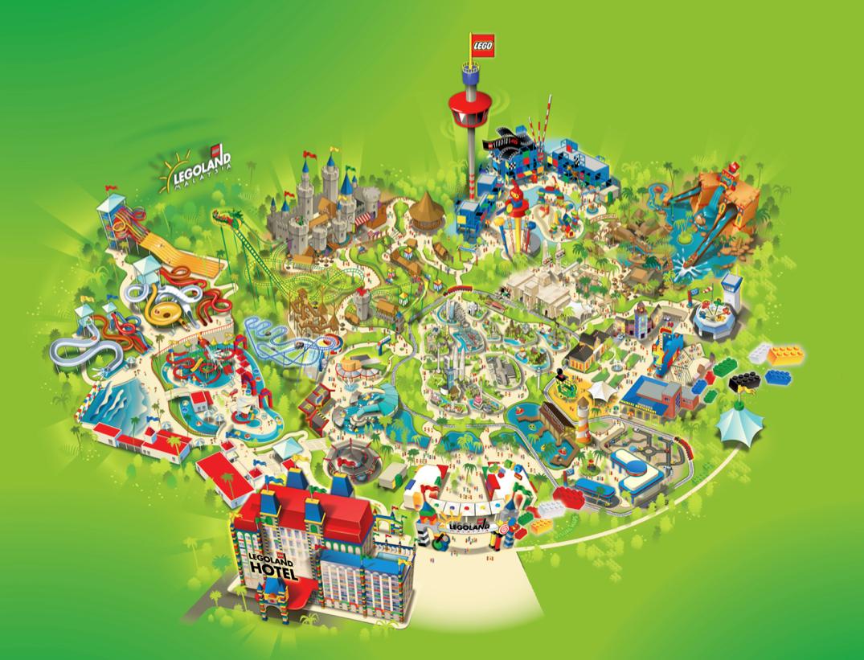Legoland Malaysia Park Map on Behance
