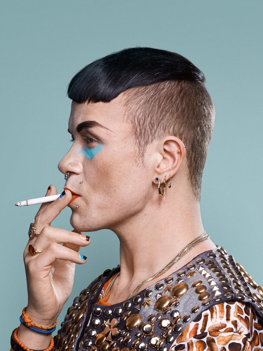 lernert@sander bas kosters fashiondesigner volkskrant portrait