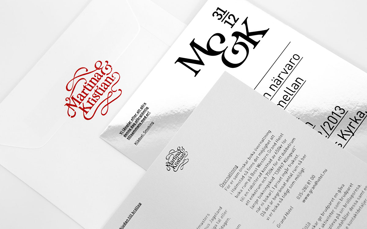 f4bddc2f59fd We were asked to design and art-direct a wedding. We did everything from  the wedding invites, a small publication and the menu to color coding, ...