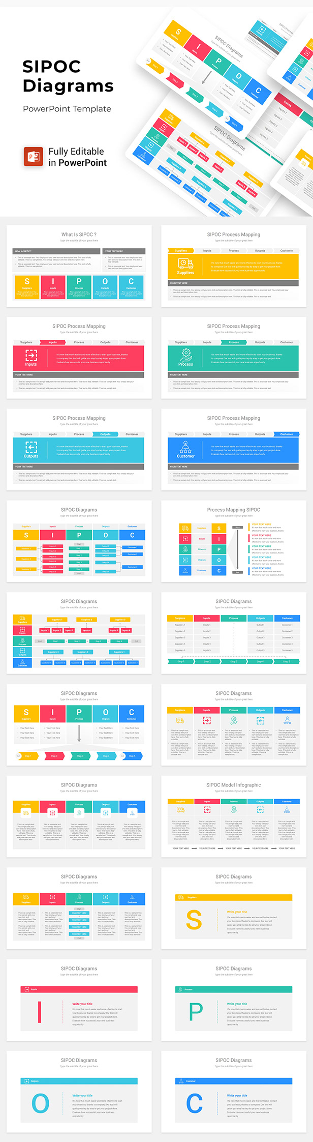Slide Deck - Multipurpose PowerPoint Template - 5