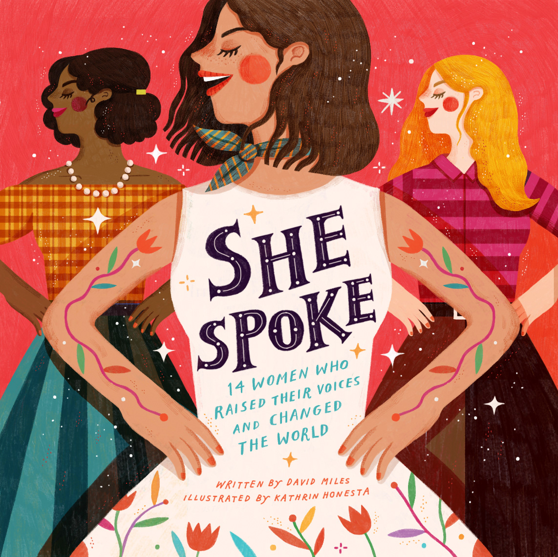 Girl Power women figures she spoke feminist women empowerment maya angelou rebel girls portrait