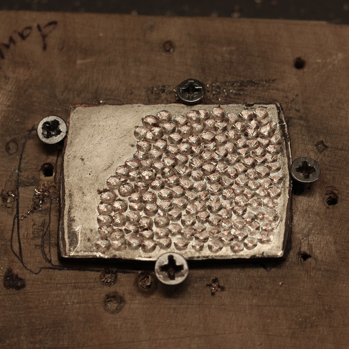 copper forge japan japanese metal Metallurgy metalwork Mokumegane silver Technique