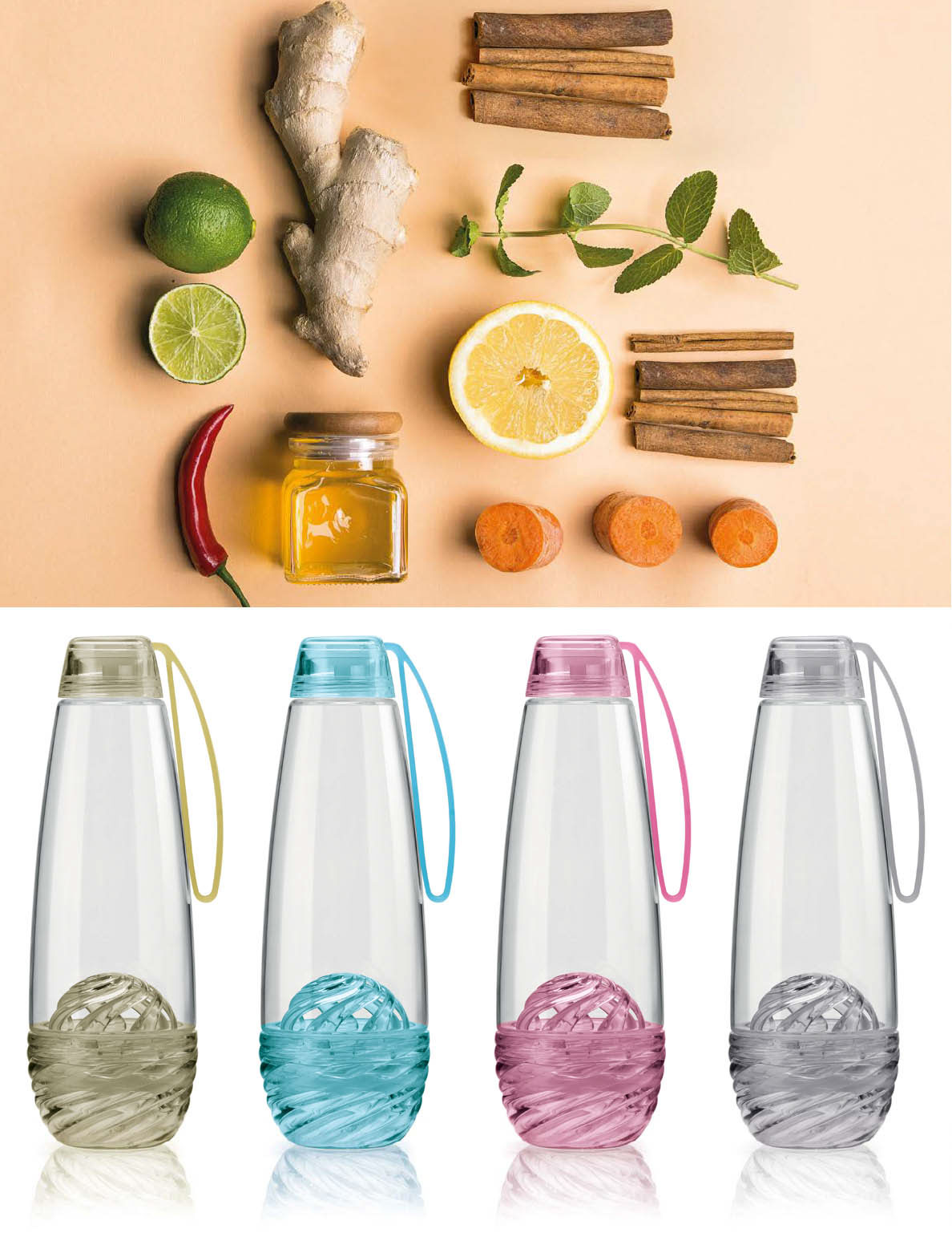 Feel On Behance New Tritan Infusd Water Bottle Is A With Fruit Infuser Made Of Bpa Free Material That Allows It To Look Like Precious Jewel