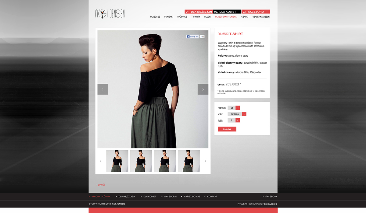 red dark road grayscale monochrome dress highway blur poland polish business card Website Interface Corporate Identity clothes