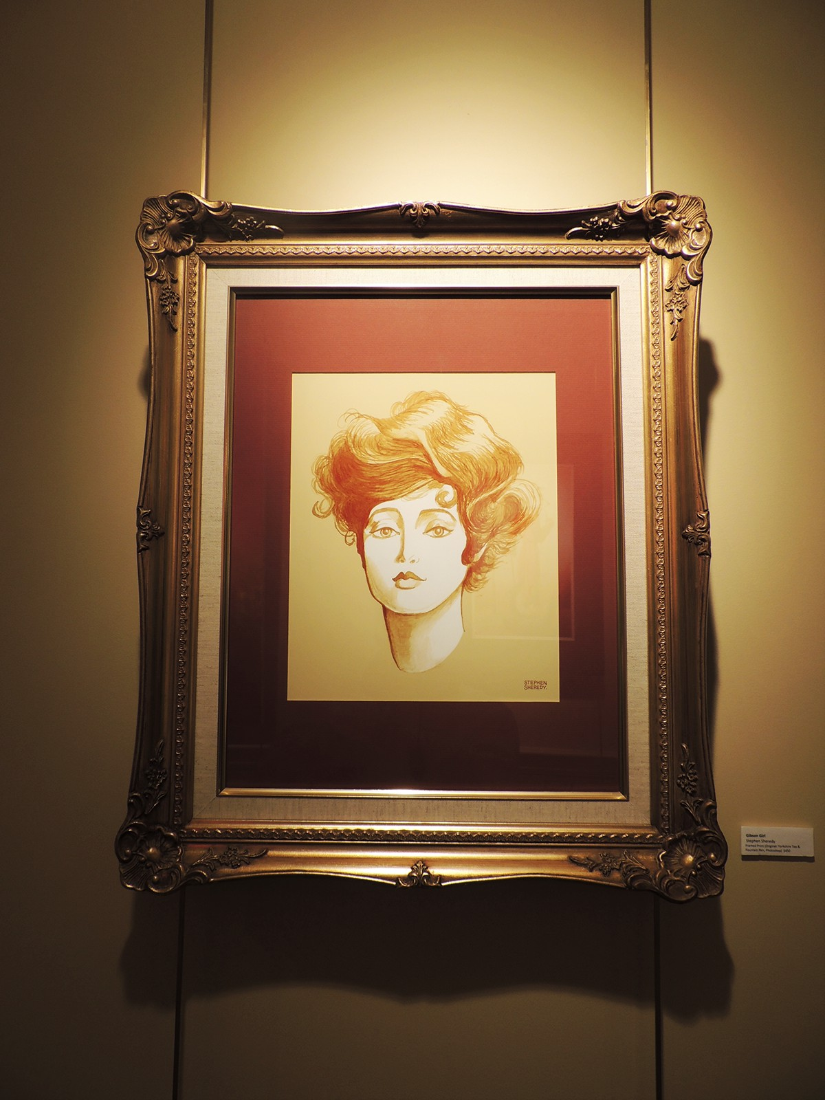 portraits MICA Gibson Girl