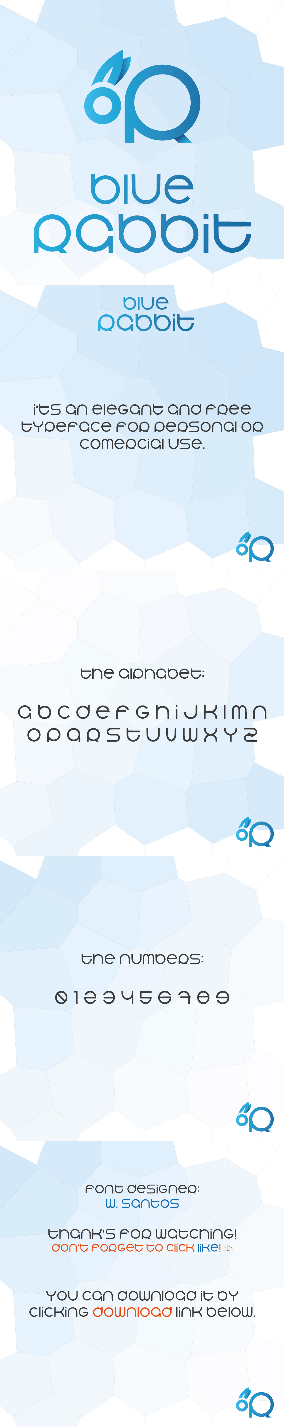 Free font download elegant commercial san serif free typeface bluerabbit