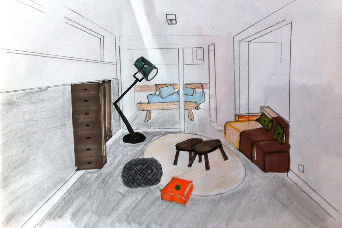 tvlounge basement play corner guestroom