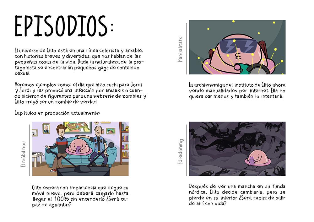 after effects Duik Digital Animation web serie barcelona clito clitoris