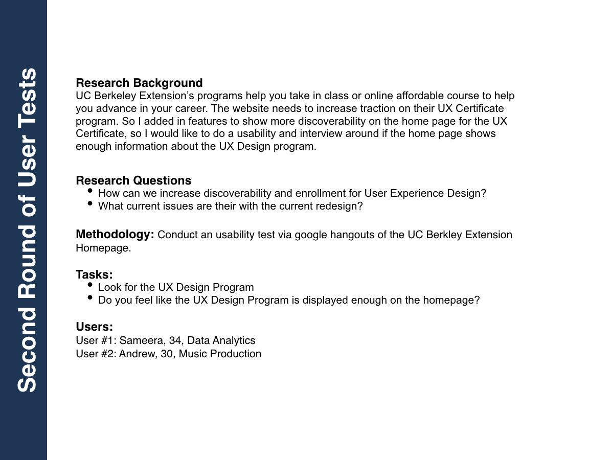 UC Berkeley Extension Redesign on Behance