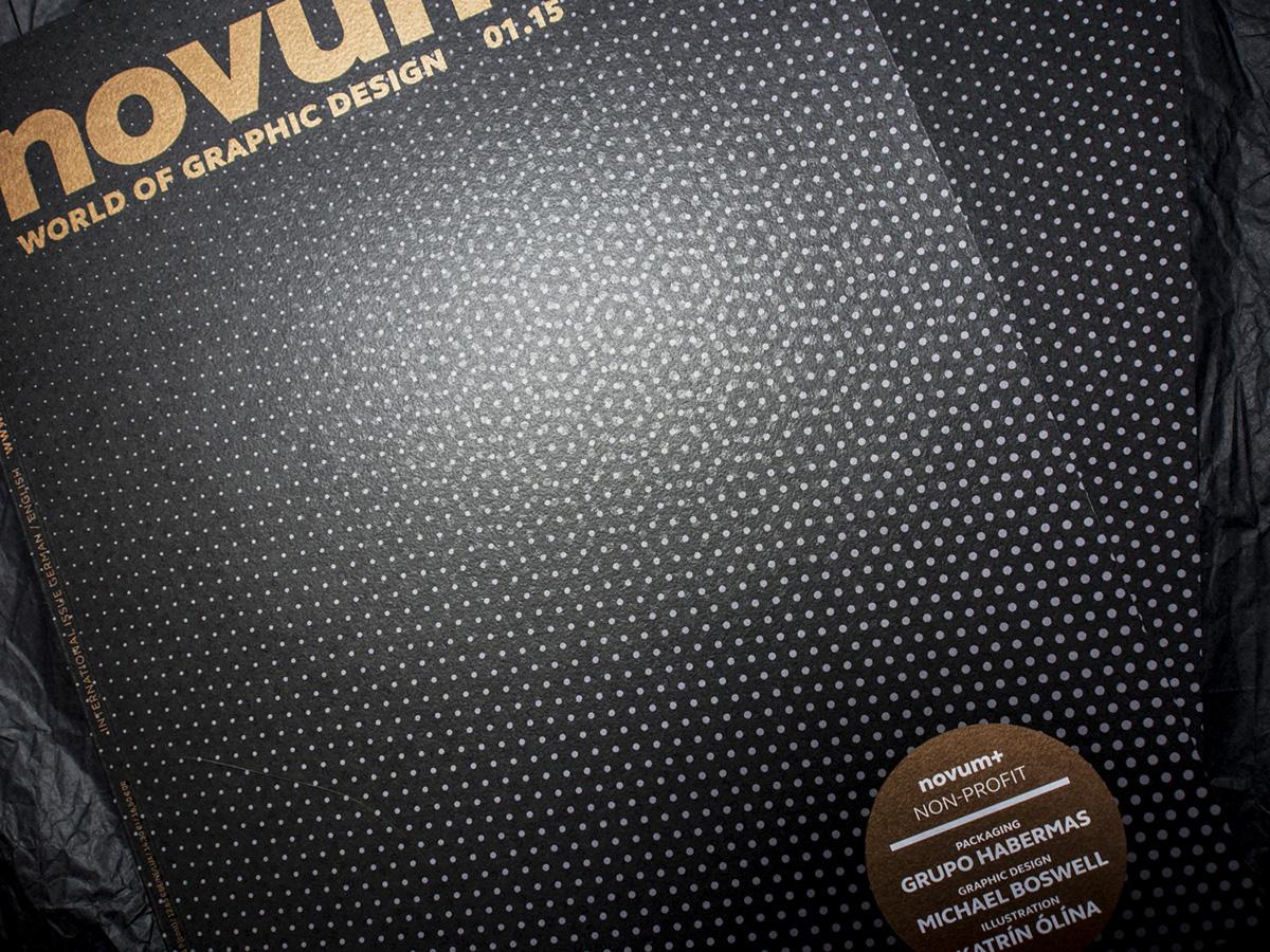novum,graphic design magazine,magazine