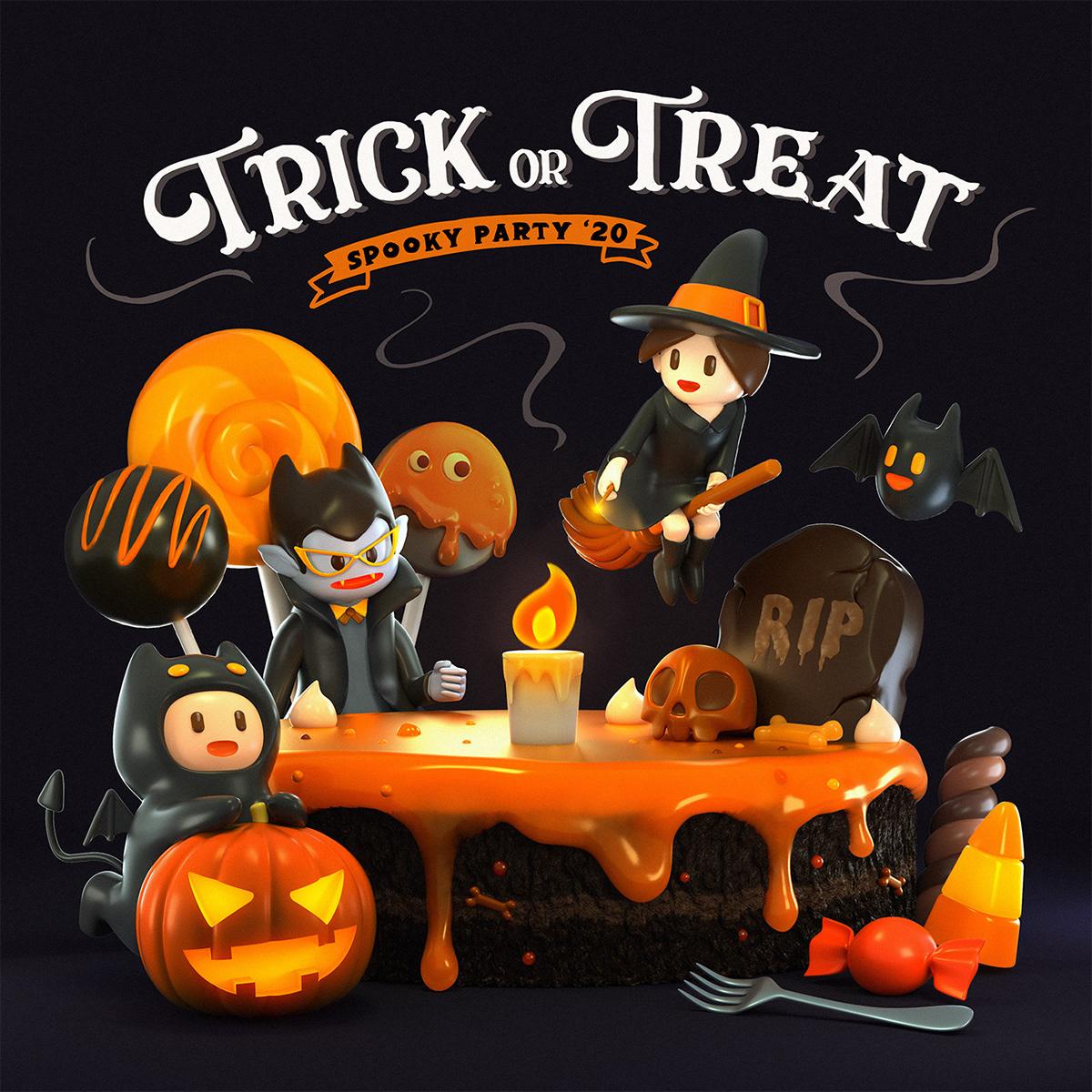 Image may contain: cartoon, pumpkin and halloween