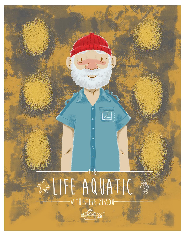 bill murray wes anderson Steve Zissou The Life Aquatic