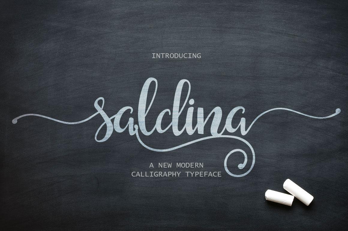 Saldina Script Font Download