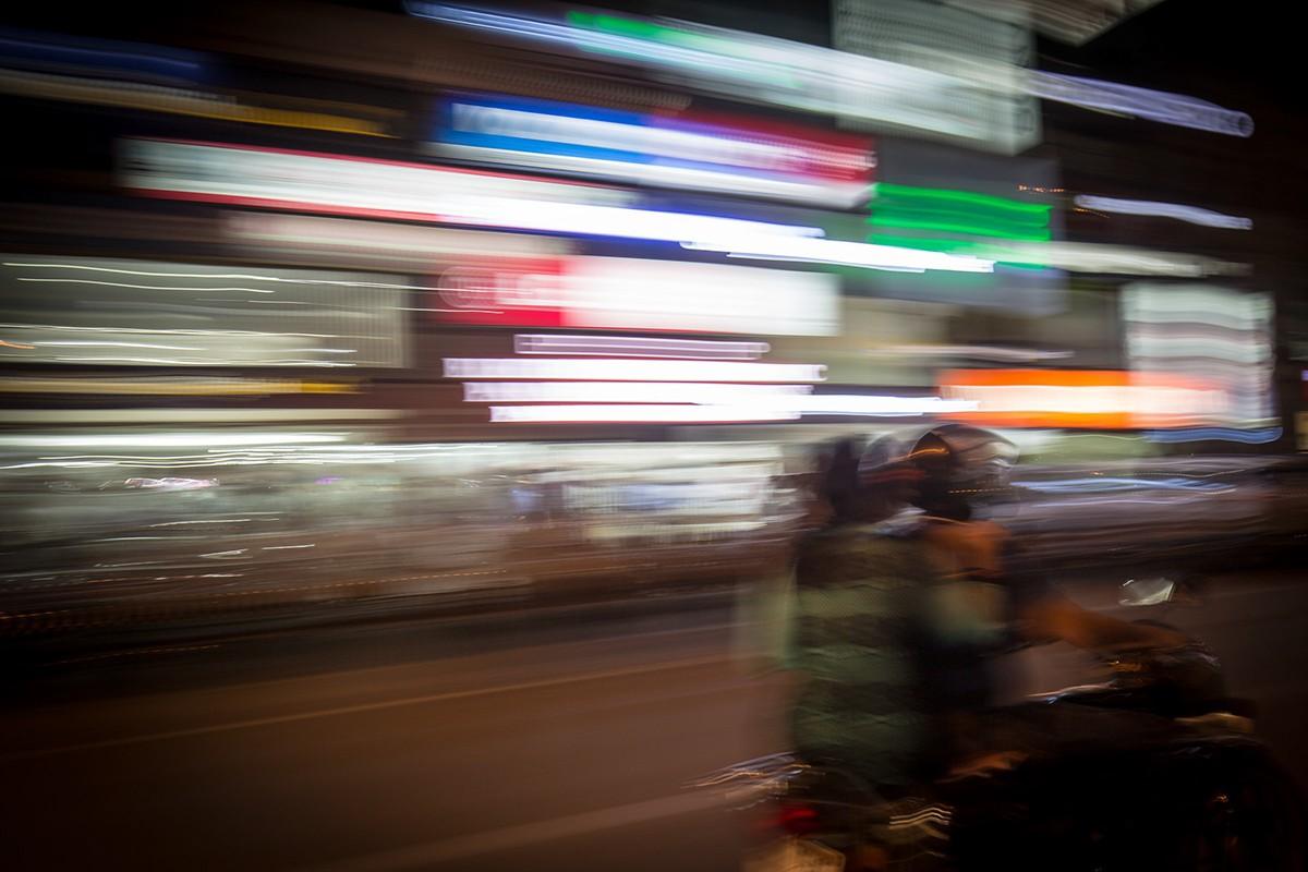 Neu Delhi bei Nacht II