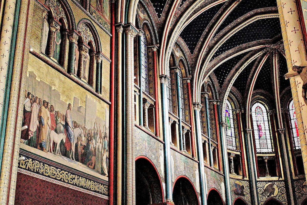 Paris delacroix Berthe Trepát cortazar Saint-Michel Églises Saint-Sulpice painting   Saint-Germain de Prés jacob