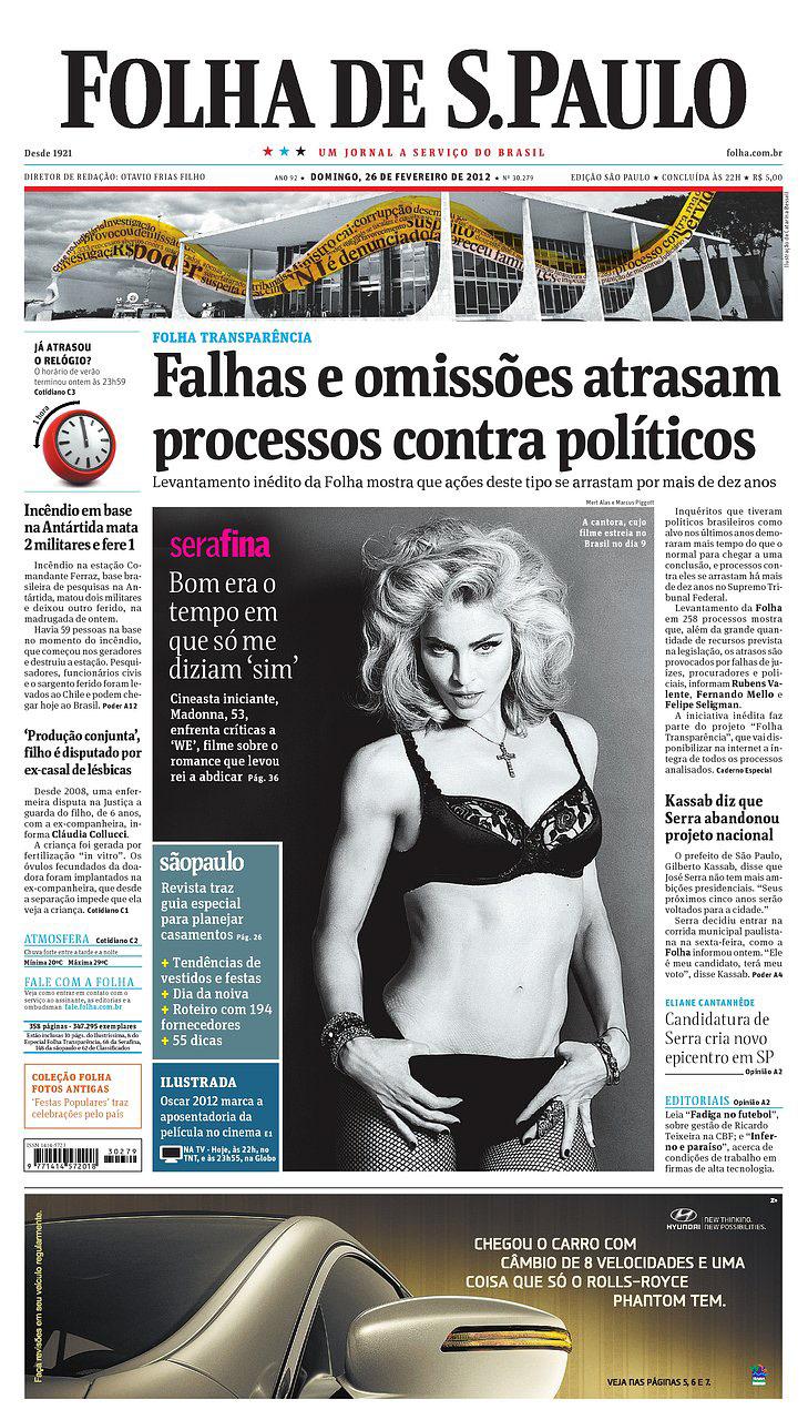 472735c349ddc6 Folha de S. Paulo on Behance