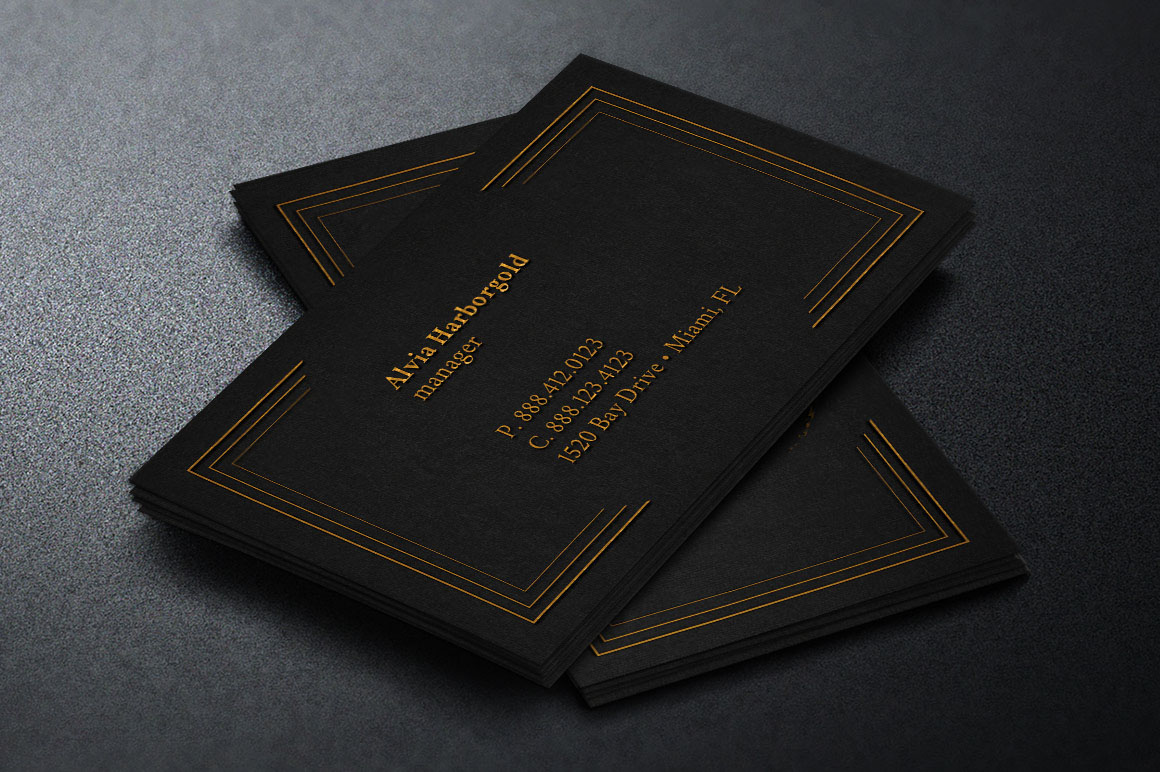 Jewelry Shop Business Card Template On Behance