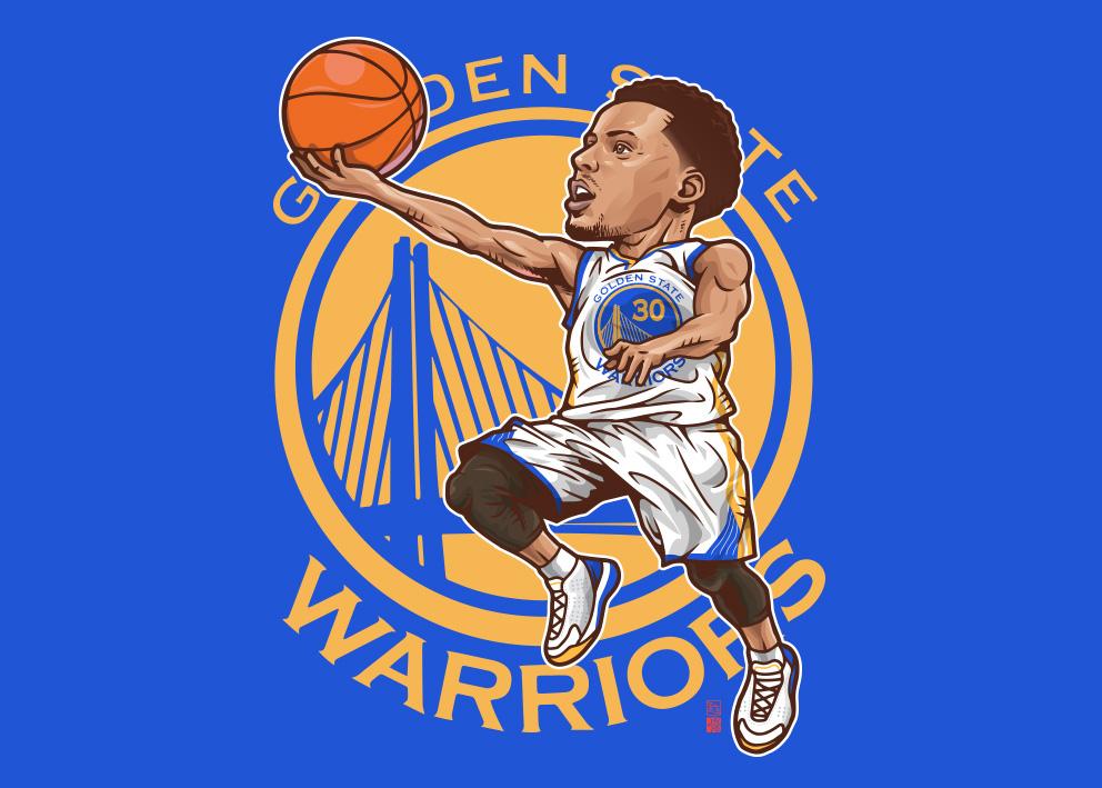 Stephen Curry, Kobe, Barkley NBAplayers on Behance