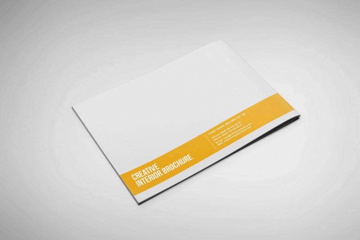 Interior Landscape Brochure Template On Behance