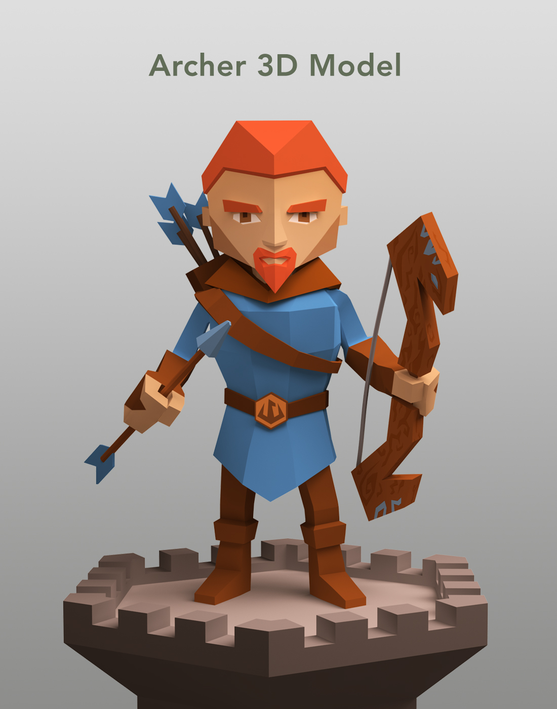 Character 2D 3D mobile game CG ILLUSTRATION