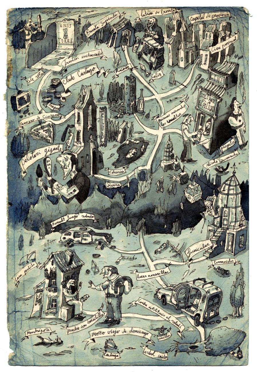 ilustracion mapas ilustracion personajes
