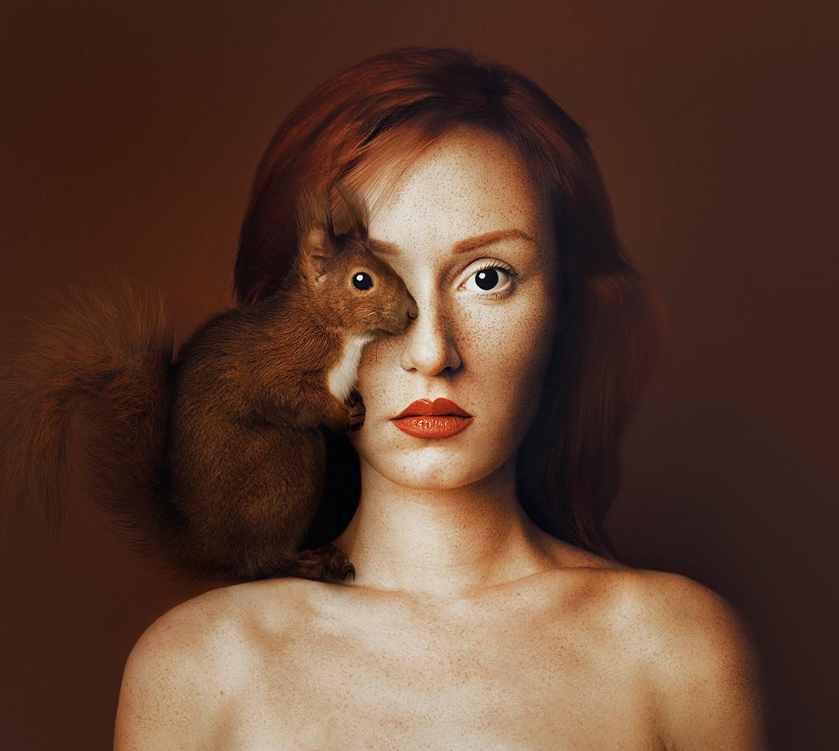 animals eyes photomanipulation photoshop fine art conceptual surreal