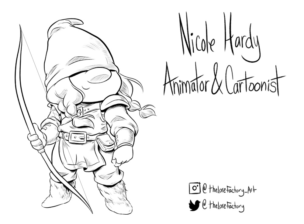 gnome Character design  cartoon dnd Dungeons and Dragons dwarf fantasy rpg