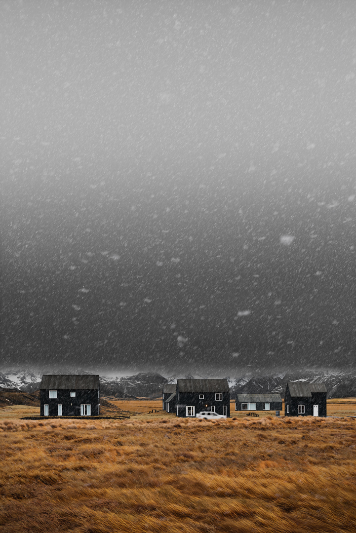 Swell Black Houses In Hellnar Iceland On Behance Download Free Architecture Designs Xoliawazosbritishbridgeorg