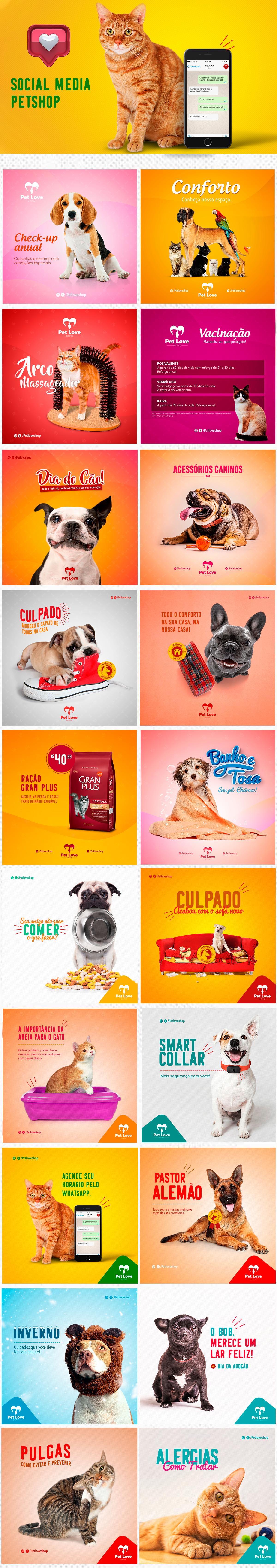 petshop social media pet shop