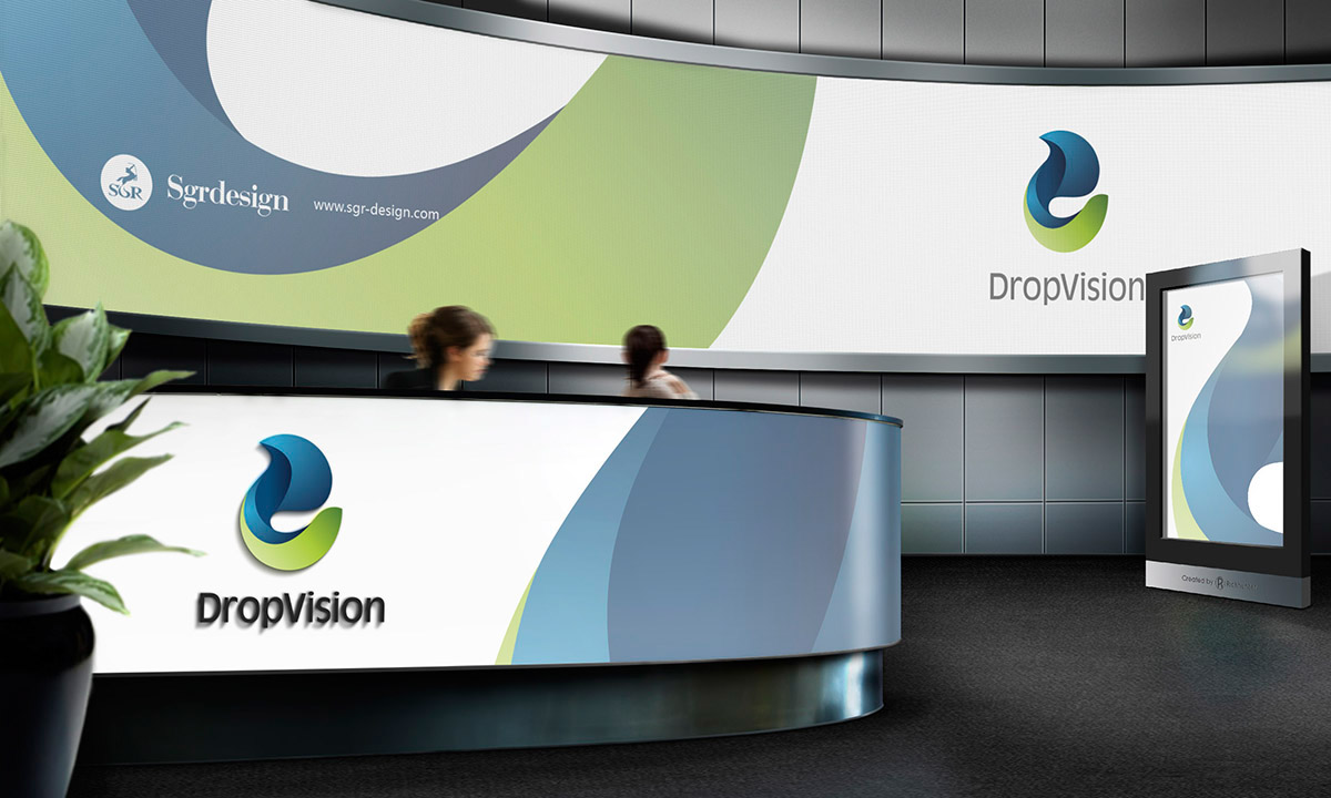 drops of water Drop Vision design sgr design VI brand 官网 品牌 画册 宣传册 视觉
