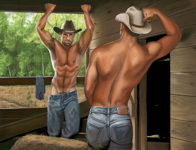 Gay cowboy wannabe