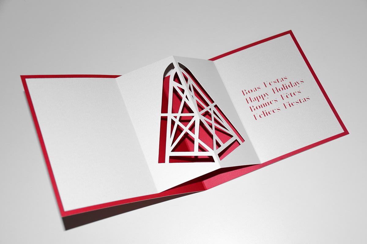 xmas Christmas postcard flyer poster print natal noel navidad