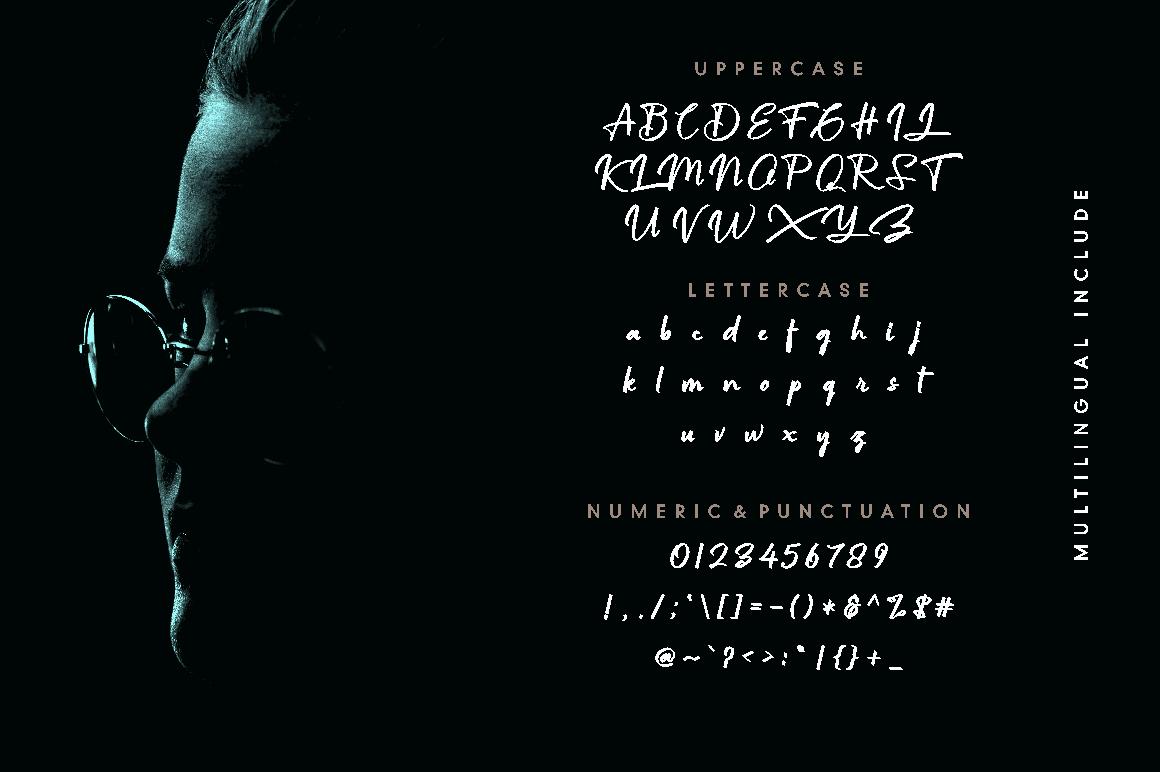 font Calligraphy   Script handwritting Typeface lettering handwritten elegant typography   Logotype