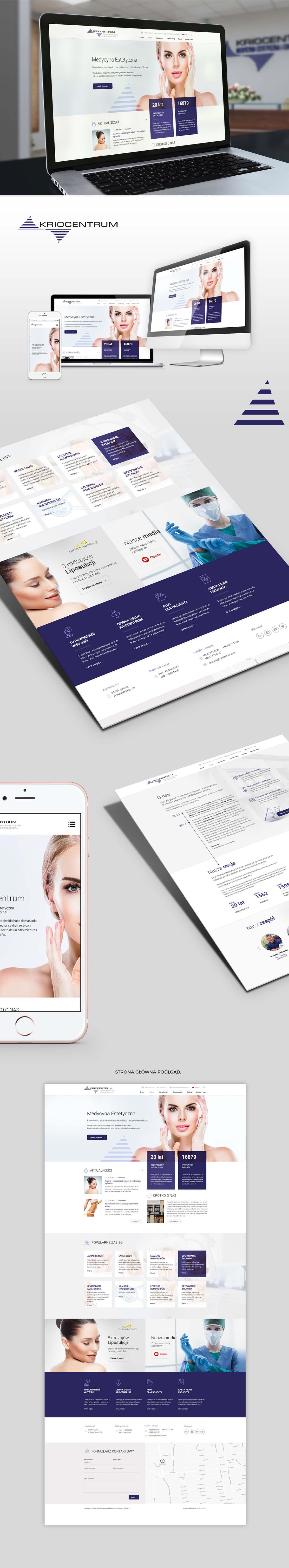 Medical Clinic Webdesign Website Clicic Strony Internetowe strony www strona internetowa strona www klinika medyczna