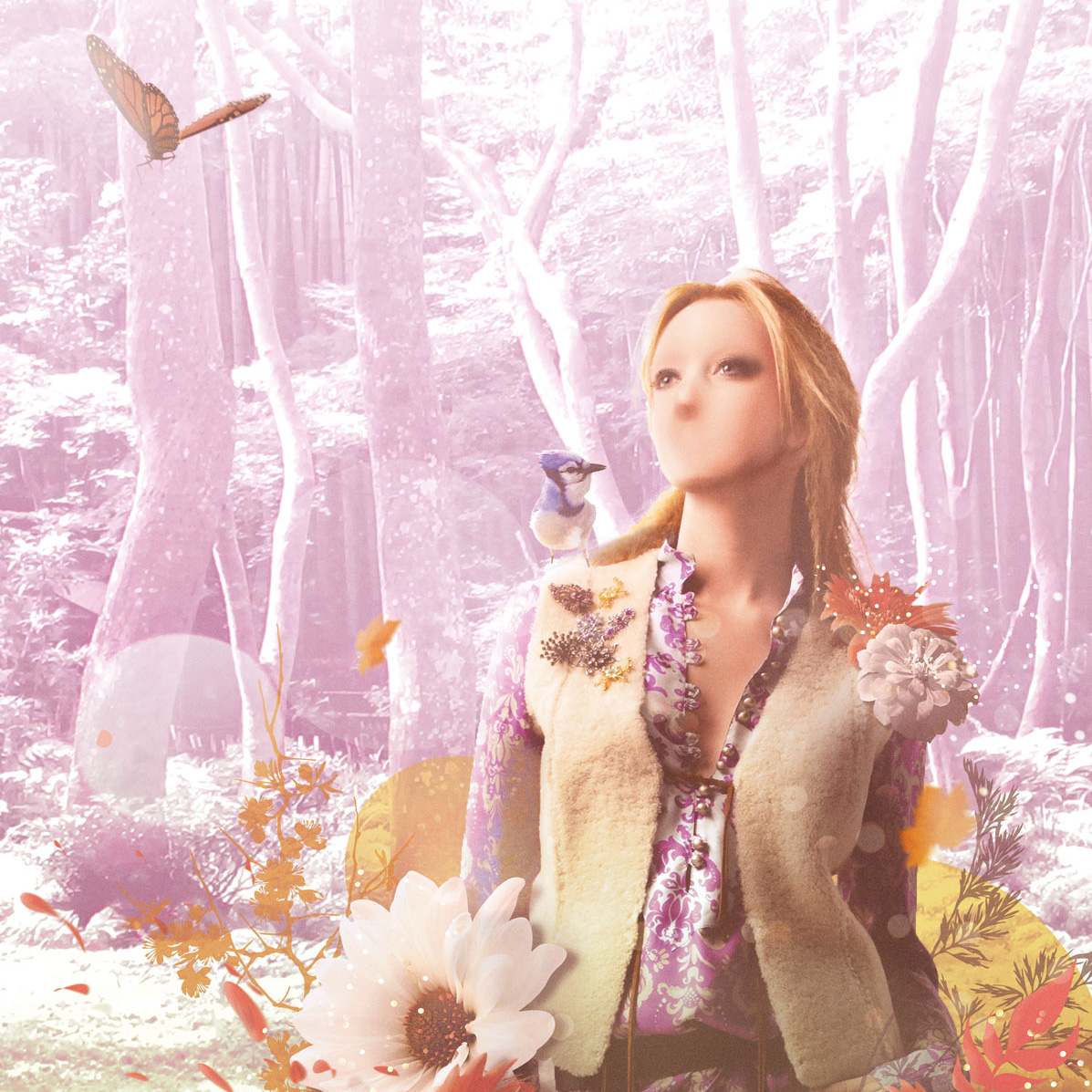 Nature wild photomontage artwork girl Photo Manipulation
