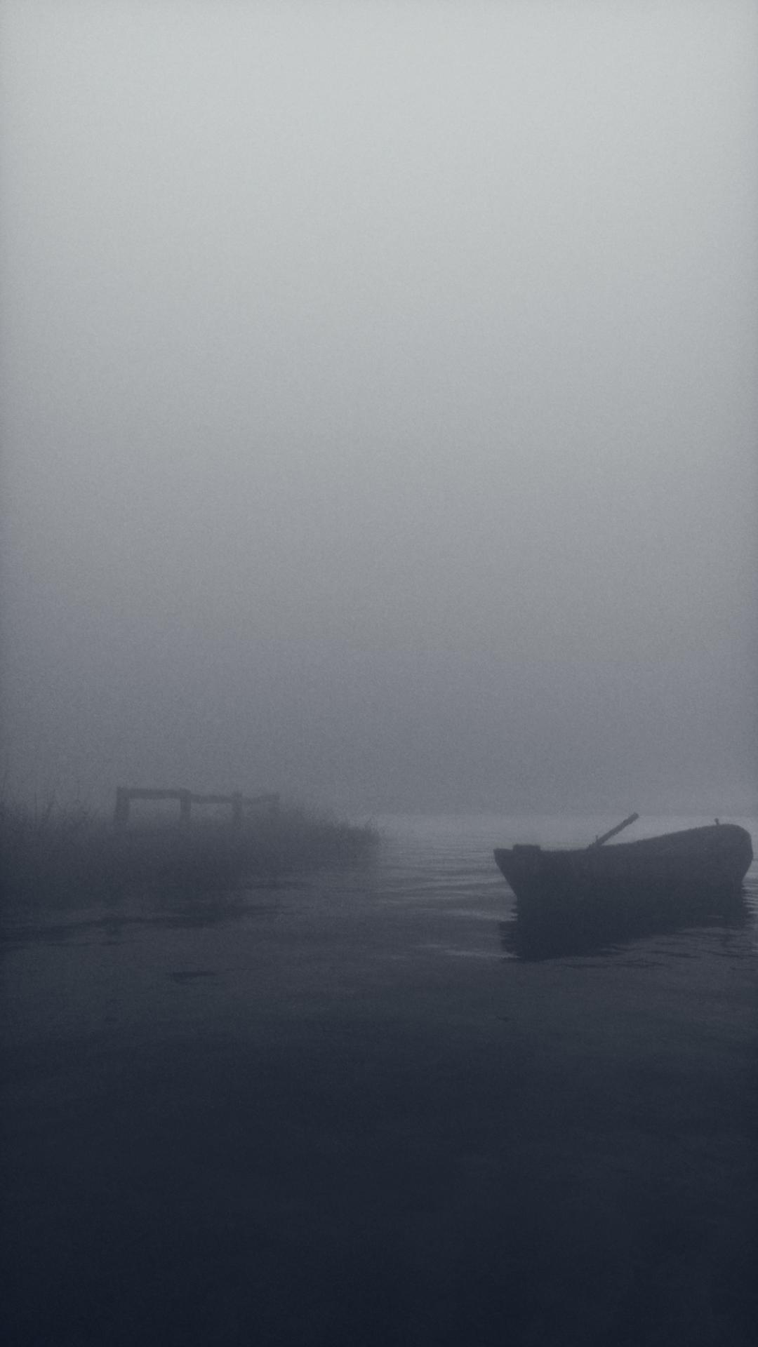 cinema 4d octane fog peaceful calm lake Render Realism